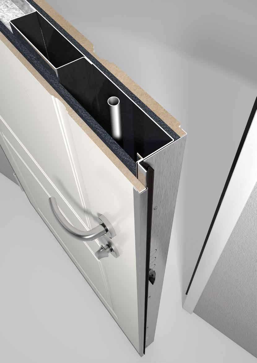 Isolamento acustico delle porte blindate torino alto l - Isolamento acustico interno ...