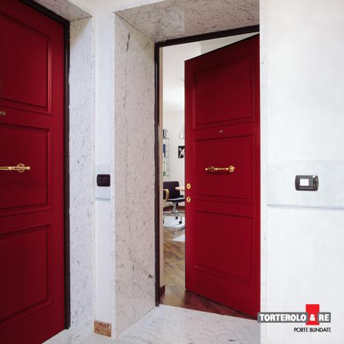 Torterolo re le porte blindate torino di carattere - Altezza porta ingresso ...