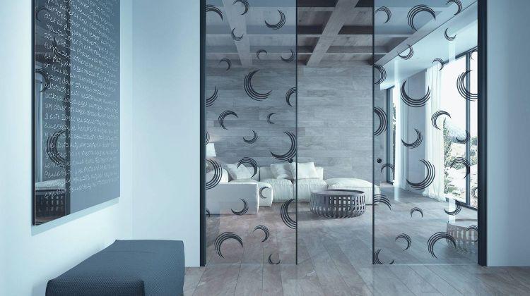 Porte scorrevoli in vetro e tendenze tuttoporte torino for Porte d arredo in vetro